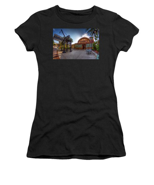 Jock Lindsey's Hangar Bar Women's T-Shirt (Athletic Fit)