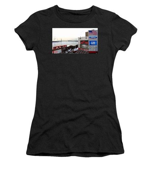 Joe Louis Arena Women's T-Shirt