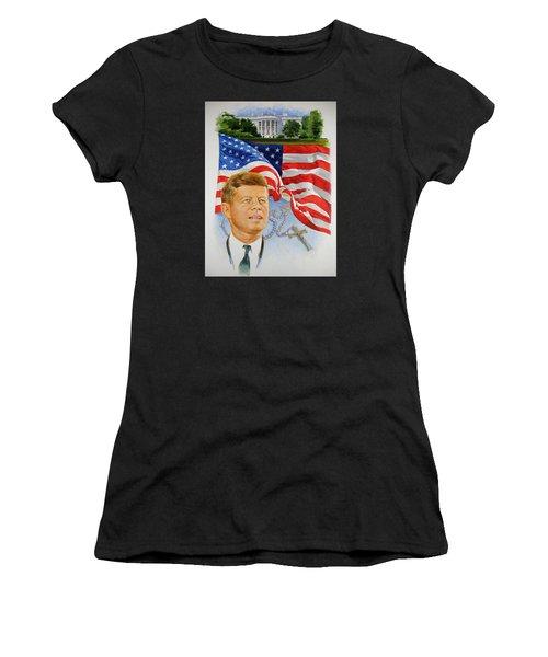 John Kennedy Catholic Women's T-Shirt