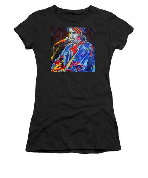 John Prine #3 Women's T-Shirt (Athletic Fit)
