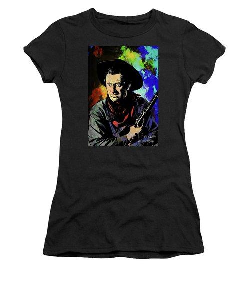John Wayne, Women's T-Shirt (Athletic Fit)