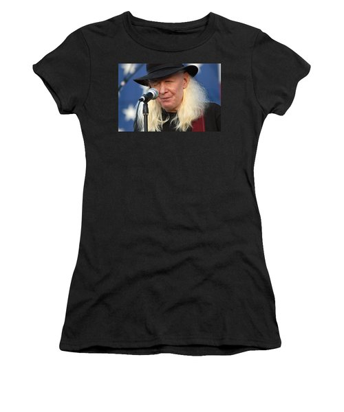 Johnny Winter Women's T-Shirt (Athletic Fit)