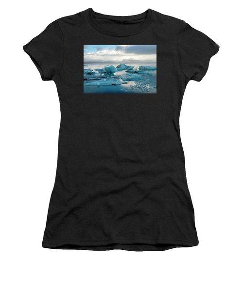 Jokulsarlon, The Glacier Lagoon, Iceland 6 Women's T-Shirt