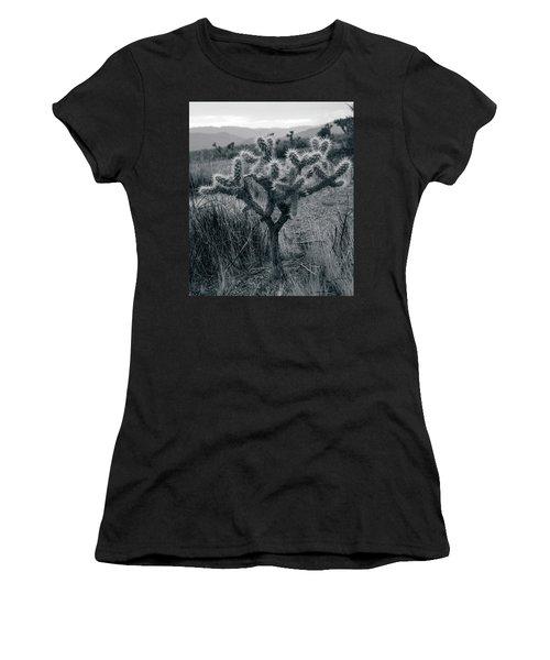Joshua Tree Cactus Women's T-Shirt (Athletic Fit)
