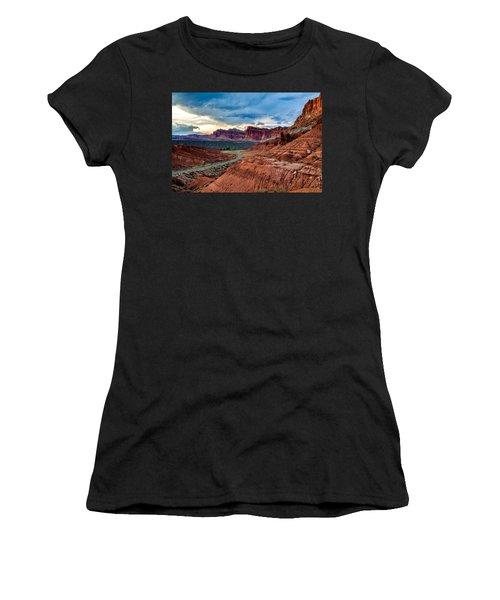 Journey Through Capitol Reef Women's T-Shirt