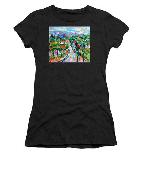Journey Through The Vines Women's T-Shirt