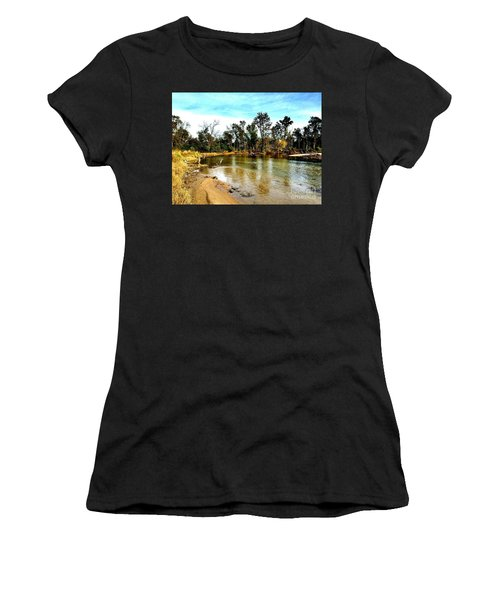 Journey To The Rivers Bend Women's T-Shirt (Athletic Fit)