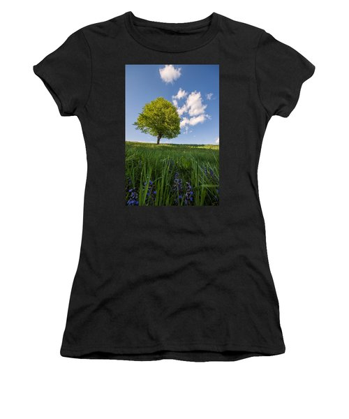 Women's T-Shirt (Junior Cut) featuring the photograph Joy by Davorin Mance