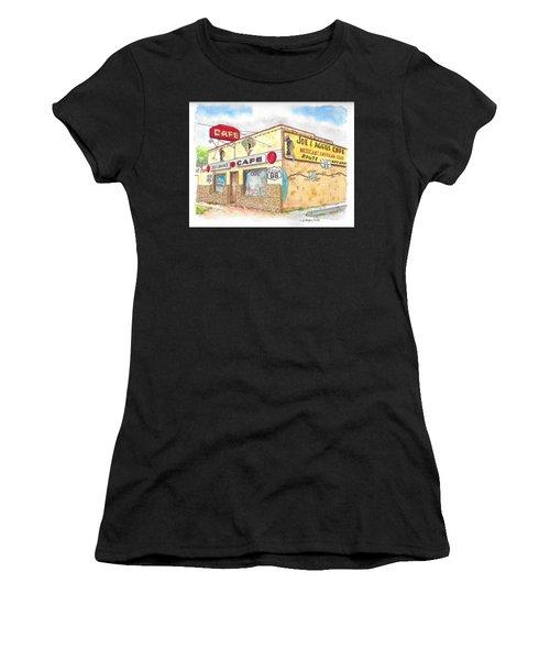 Joe And Aggies Cafe, Route 66, Holbrook, Arizona Women's T-Shirt