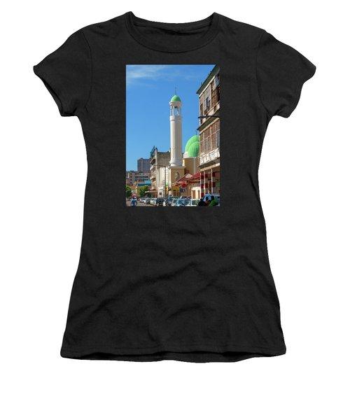 Jumma Mosque Long Women's T-Shirt