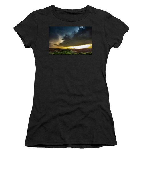 June Comes In With A Boom 005 Women's T-Shirt