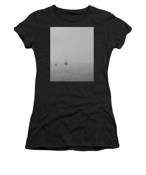 June Gloom Women's T-Shirt (Junior Cut) by Don Mennig