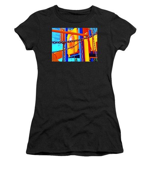 Jungle Gym Women's T-Shirt (Junior Cut) by Tobeimean Peter