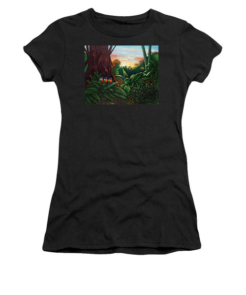 Jungle Harmony 3 Women's T-Shirt (Athletic Fit)