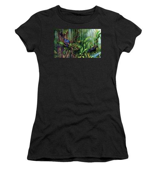 Jungle Talk Women's T-Shirt (Athletic Fit)