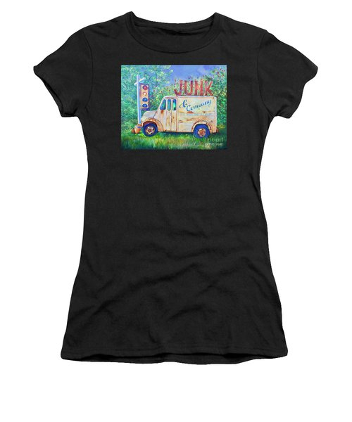 Junk Truck Women's T-Shirt (Athletic Fit)