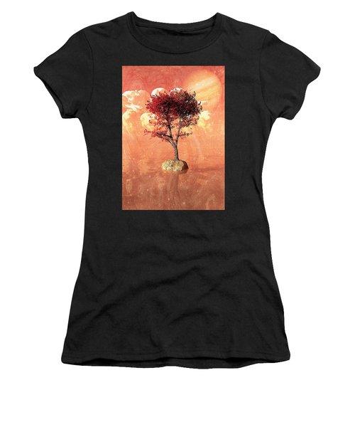 Jupiter Rising Women's T-Shirt (Athletic Fit)
