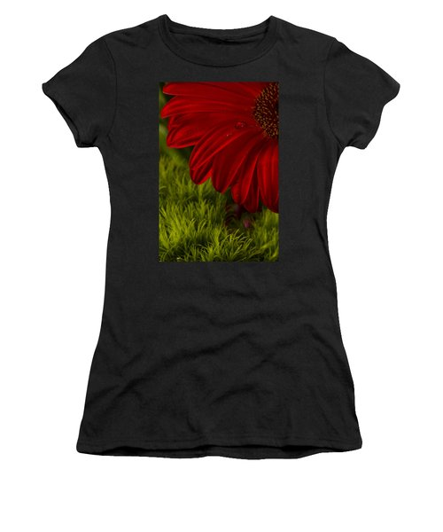 Just A Drop Women's T-Shirt (Athletic Fit)