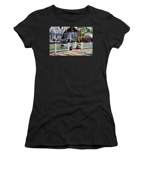 Just Beyond The Pickets Women's T-Shirt
