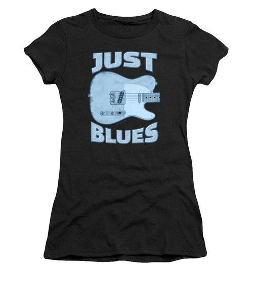 Just Blues Shirt Women's T-Shirt (Athletic Fit)