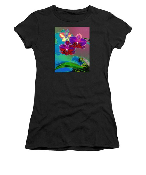 Just Open 2 Women's T-Shirt (Athletic Fit)