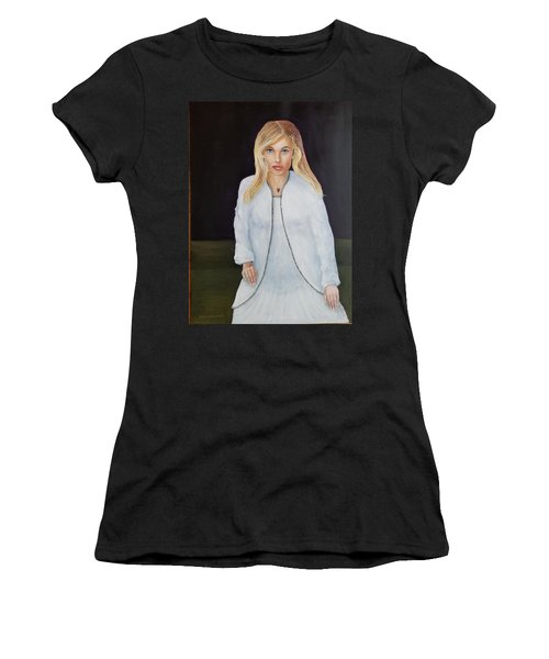 Just Posing Women's T-Shirt (Athletic Fit)