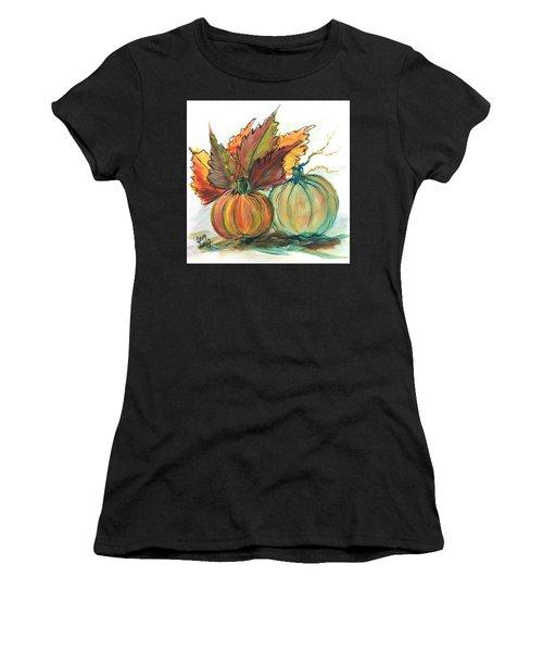 Just Pumpkins Women's T-Shirt (Athletic Fit)
