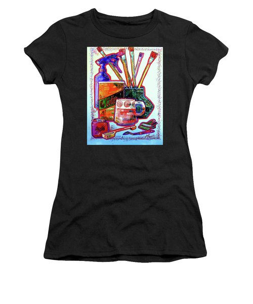 Just Stuff Women's T-Shirt (Athletic Fit)