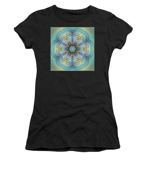 Women's T-Shirt featuring the digital art Jyoti Ahau 140 by Robert Thalmeier