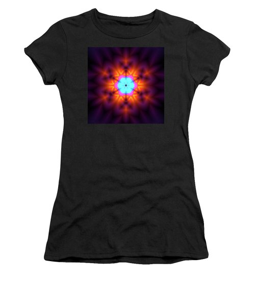 Women's T-Shirt featuring the digital art Jyoti Ahau 216 by Robert Thalmeier