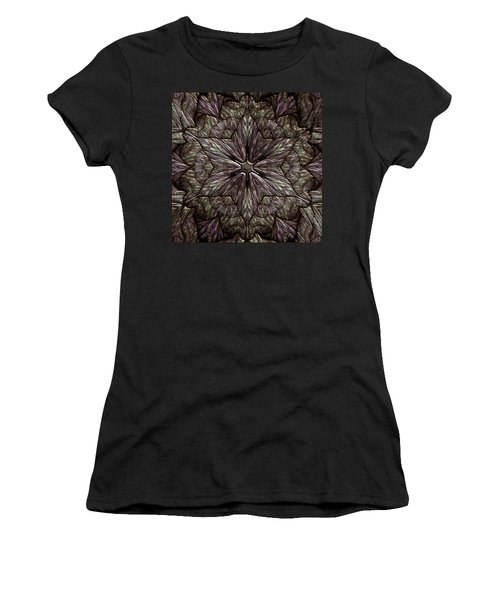 Women's T-Shirt featuring the digital art Jyoti Ahau 220 by Robert Thalmeier