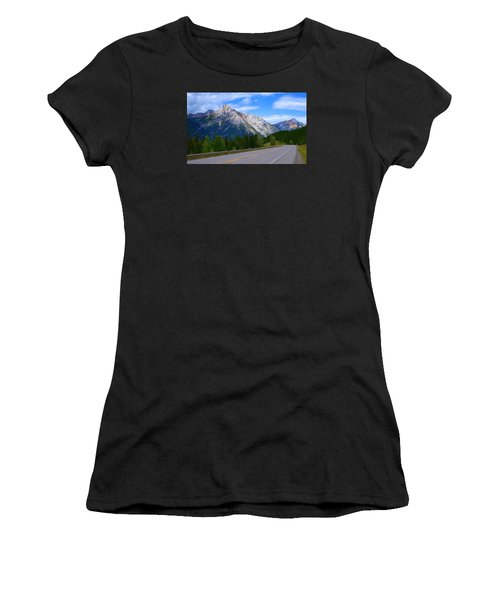 Kananaskis Country Women's T-Shirt (Junior Cut) by Heather Vopni