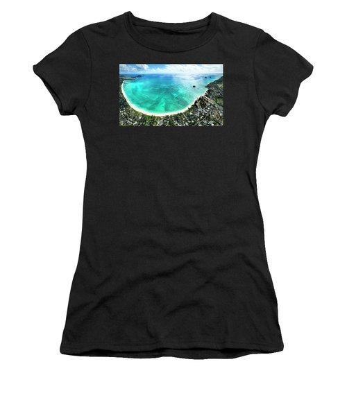 Kailua - Lanikai Overview Women's T-Shirt