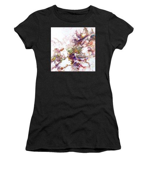 Kaleidescope Of Color Women's T-Shirt (Athletic Fit)