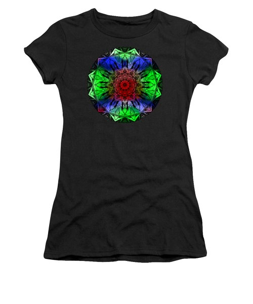 Kaleidoscope Women's T-Shirt (Athletic Fit)