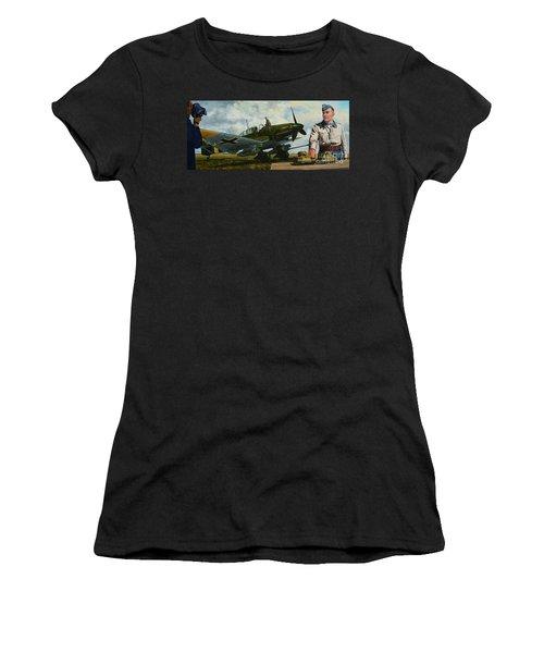 Kamerad Hans - Ulrich Women's T-Shirt (Athletic Fit)