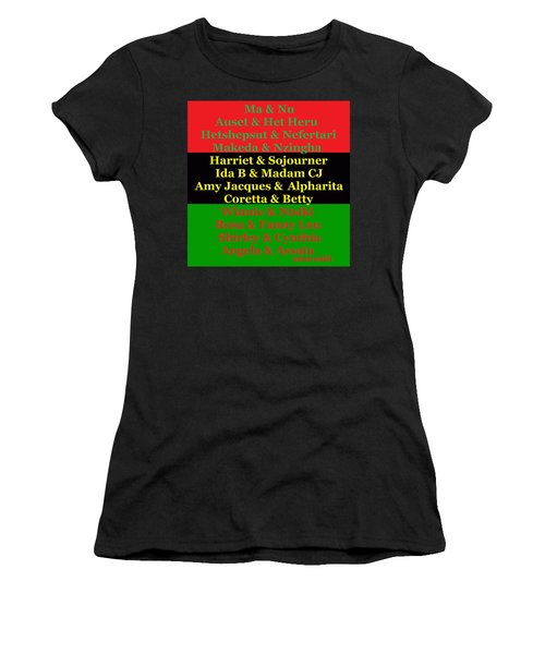 Kandaki Ma 2 Women's T-Shirt (Athletic Fit)
