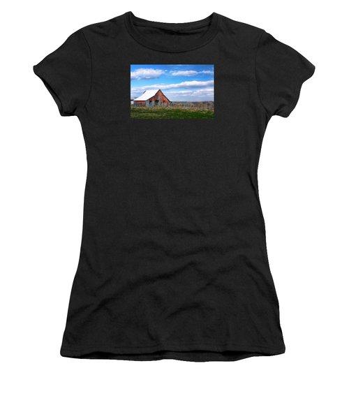 Kansas Farm Women's T-Shirt (Athletic Fit)