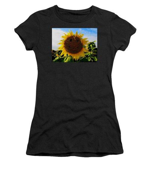 Kansas Sunflower Women's T-Shirt