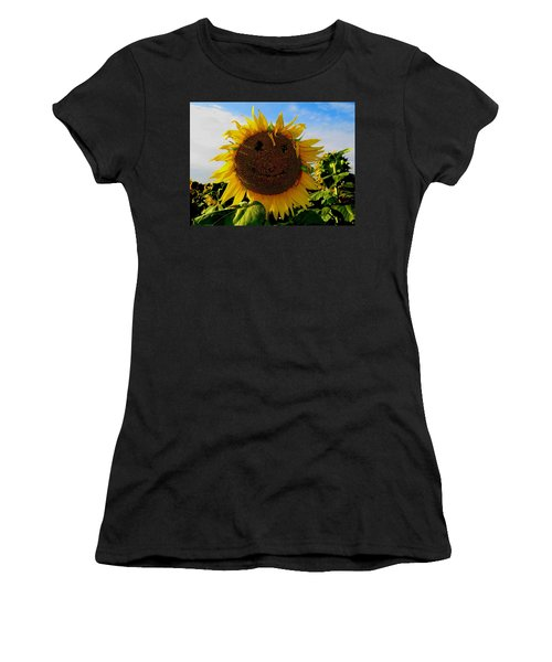 Kansas Sunflower Women's T-Shirt
