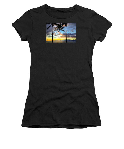Women's T-Shirt (Junior Cut) featuring the photograph Kapalua Dream by Kelly Wade