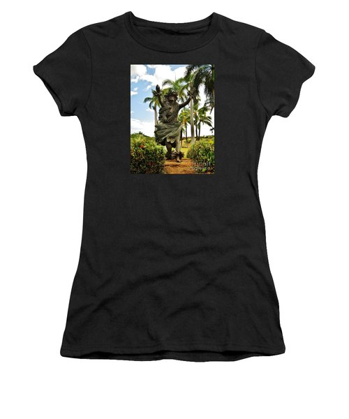 Women's T-Shirt (Junior Cut) featuring the photograph Kapo by Craig Wood