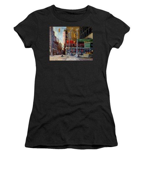 Katz's Delicatessen, New York City Women's T-Shirt (Athletic Fit)