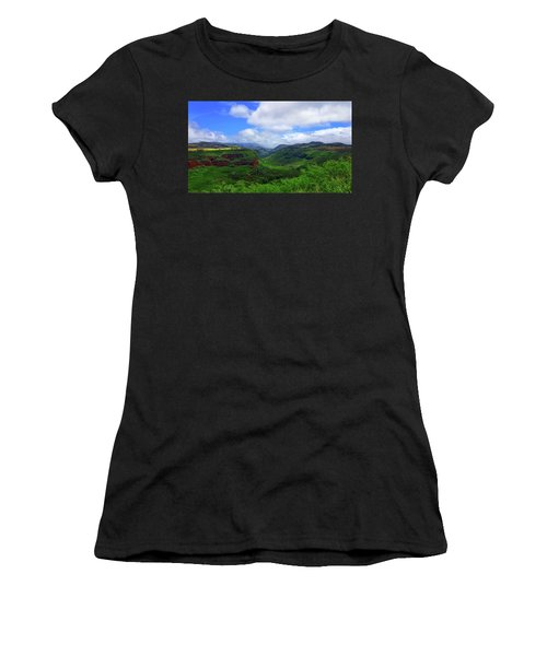 Kauai Mountains Women's T-Shirt