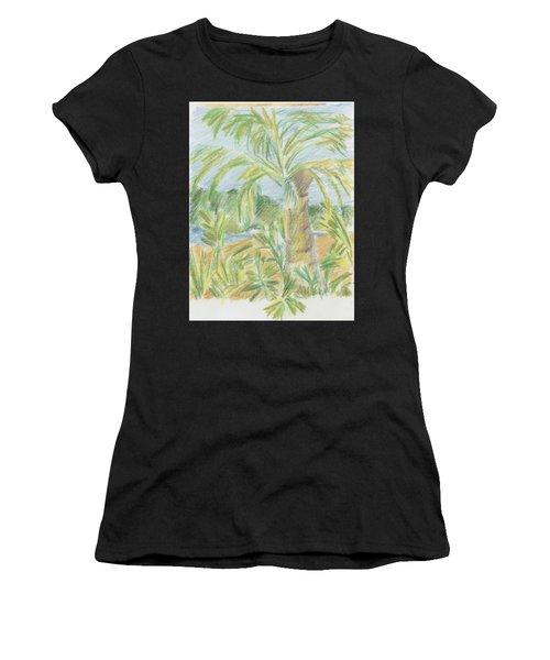 Kauai Palms Women's T-Shirt
