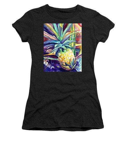 Kauai Pineapple 4 Women's T-Shirt