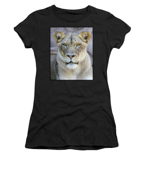 Kaya Portrait Women's T-Shirt (Athletic Fit)