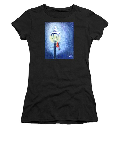 Keeping Warm Women's T-Shirt (Athletic Fit)