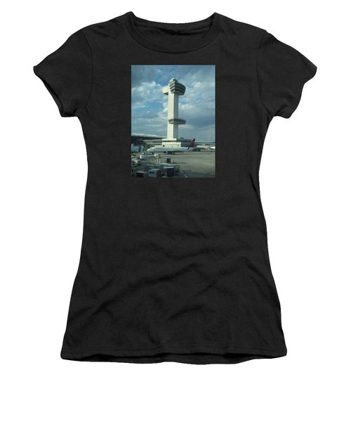 Kennedy Airport Control Tower Women's T-Shirt