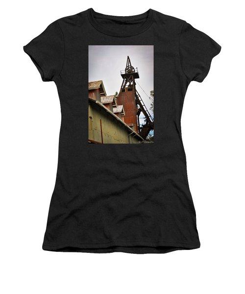 Kennedy Mine Headframe Women's T-Shirt (Athletic Fit)